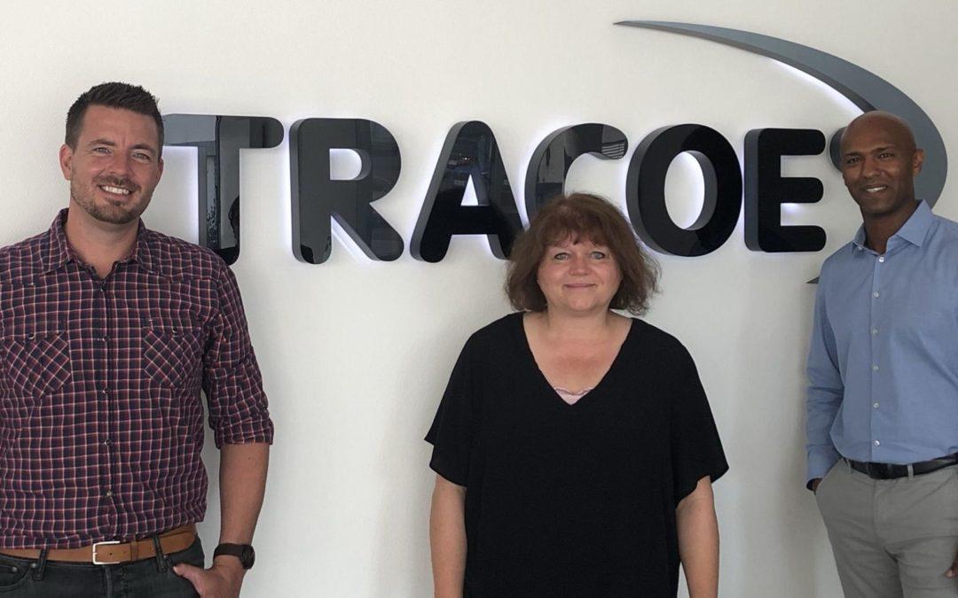 Good News: Medizinproduktehersteller TRACOE medical startet mit Bürgermeister Dirk Hasenfuss Job-Offensive in Nieder-Olm